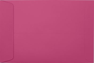 LUX 6 x 9 Open End Envelopes 50/Pack, Magenta (EX1644-10-50)