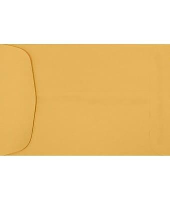 LUX 4 5/8 x 6 3/4 Open End Envelopes 1000/Pack, 24lb. Brown Kraft (7955-1000)