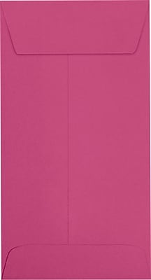 LUX #7 Coin Envelopes (3 1/2 x 6 1/2) 50/Pack, Magenta (LUX-7CO-10-50)
