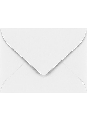 LUX #17 Mini Envelopes (2 11/16 x 3 11/16) 50/Pack, 70lb. Bright White (LEVC902-50)