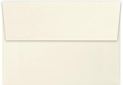 LUX A1 Invitation Envelopes (3 5/8 x 5 1/8) 50/Pack, Natural Linen (4865-NLI-50)