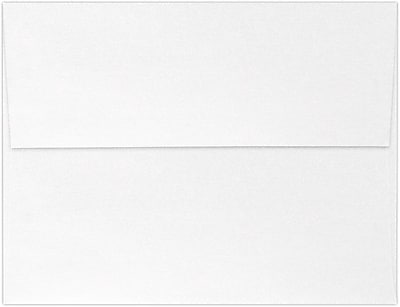 LUX A4 Invitation Envelopes (4 1/4 x 6 1/4) 50/Pack, Crystal Metallic (4872-30-50)