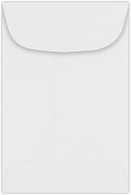 LUX #4 Coin Envelopes (3 x 4-1/2) 50/Pack, 24lb. Bright White (94771-50)