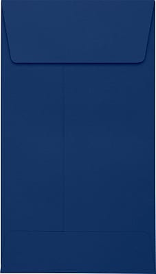 LUX #5 1/2 Coin Envelopes (3 1/8 x 5 1/2) 500/Pack, Navy (LUX512CO103500)