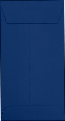 LUX #7 Coin Envelopes (3 1/2 x 6 1/2) 250/Pack, Navy (LUX-7CO-103-250)