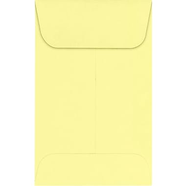 LUX #1 Coin Envelopes (2 1/4 x 3 1/2) 1000/Pack, Lemonade (LUX-1CO-15-1000)