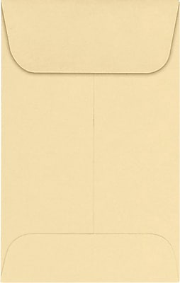LUX #1 Coin Envelopes (2 1/4 x 3 1/2) 50/Pack, Nude (LUX-1CO-07-50) 24261350