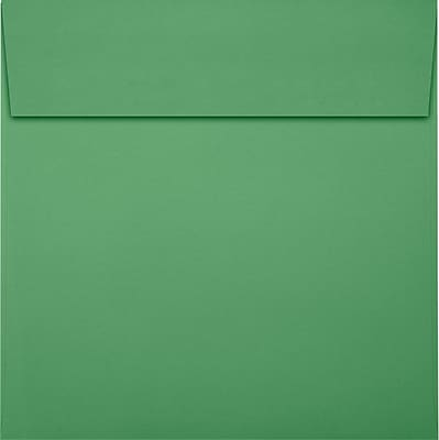 LUX 6 x 6 Square Envelopes 50/Pack, Holiday Green (8525-12-50)