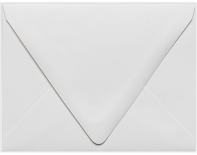 LUX A2 Contour Flap - 100% Recycled - White 50/Pack, White - 100% Recycled (1870-WPC-50)