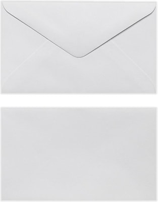 LUX #63 Mini Envelope (2 1/2 x 4 1/4) 250/Pack, White (EN6302-250)