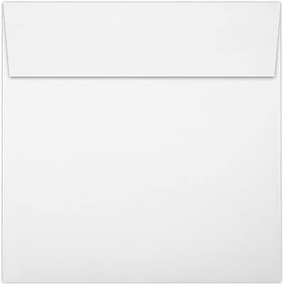 LUX 6 x 6 Square Envelopes 250/Pack, 80lb. Bright White (8525-80W-250)