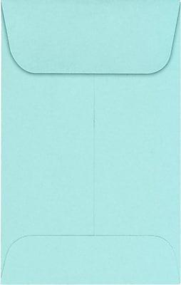 LUX #1 Coin Envelopes (2 1/4 x 3 1/2) 1000/Pack, Seafoam (LUX1CO1131000)