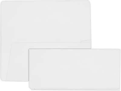 LUX Airline Ticket (3 7/8 x 8 1/2) 500/Pack, 70lb. White (AIR378-70W-500)