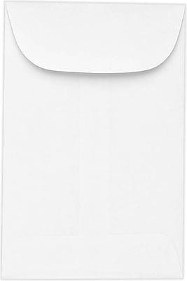 LUX #5 1/2 Coin Envelopes (3 1/8 x 5 1/2) 1000/Pack, 24lb. Bright White (94961-1000)