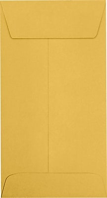LUX #7 Coin Envelopes (3 1/2 x 6 1/2) 1000/Pack, 24lb. Brown Kraft (95125-1000)