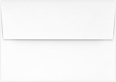 LUX A1 Invitation Envelopes (3 5/8 x 5 1/8) 250/Pack, Brilliant White - 100% Cotton (4865-SBW-250)
