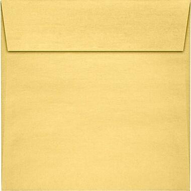 LUX 5 1/2 x 5 1/2 Square Envelopes 250/Pack, Gold Metallic (8515-07-250)