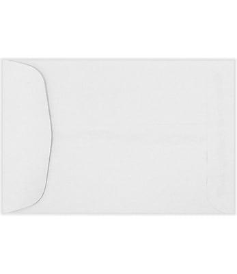 LUX 5 x 7 1/2 Open End Envelopes 250/Pack, 24lb. Bright White (8151-250)