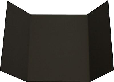 LUX A7 Gatefold Invitation (5 x 7) 100/Pack, Black Linen (A7GF-BLI-100)