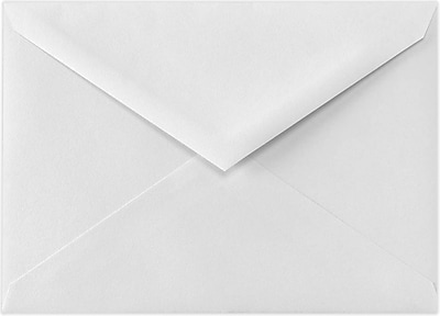 LUX Lee BAR Envelopes (5 1/4 x 7 1/4) 250/Pack, 70lb. Bright White (71414-250)