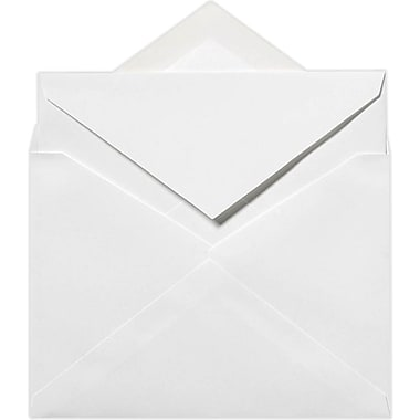 LUX 6 x 8 1/4 Outer Envelopes 500/Pack, 70lb. Bright White (72771-500)