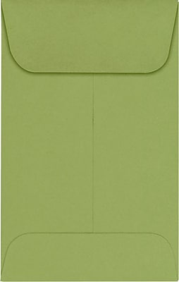 LUX #1 Coin Envelopes (2 1/4 x 3 1/2) 250/Pack, Avocado (EX1CO-27-250)