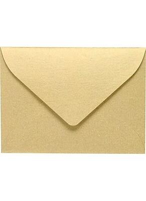 LUX #17 Mini Envelopes (2 11/16 x 3 11/16) 50/Pack, Blonde Metallic (MINSHB-50)