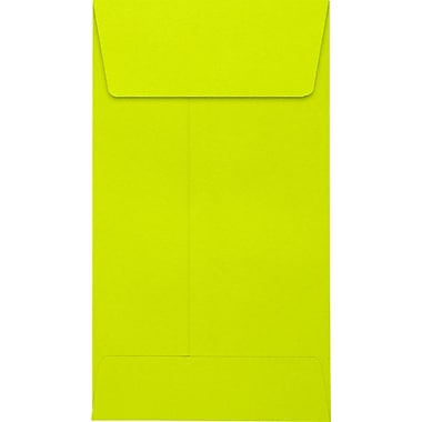 LUX #5 1/2 Coin Envelopes (3 1/8 x 5 1/2) 500/Pack, Wasabi (LUX512COL22500)