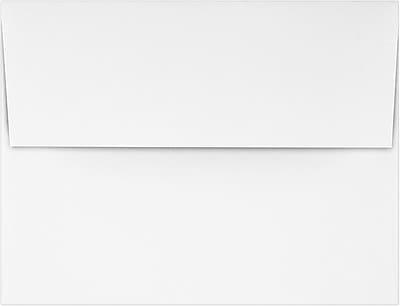 LUX A2 (4 3/8 x 5 3/4) - 24lb. White Wove 50/Pack, 24lb. Bright White (72924-50)