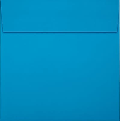 LUX 6 x 6 Square Envelopes 250/Pack, Pool (LUX8525102250)