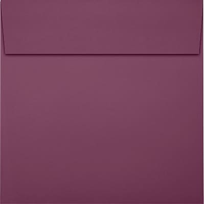 LUX 6 x 6 Square Envelopes 250/Pack, Vintage Plum (LUX8525104250)