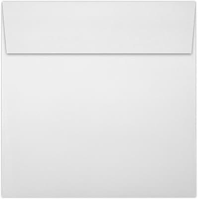 LUX 5 1/4 x 5 1/4 Square Envelopes 50/Pack, 70lb. Bright White (8510-70W-50)