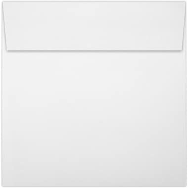 LUX 5 1/4 x 5 1/4 Square Envelopes 50/Pack, White - 100% Recycled (8510-WPC-50)