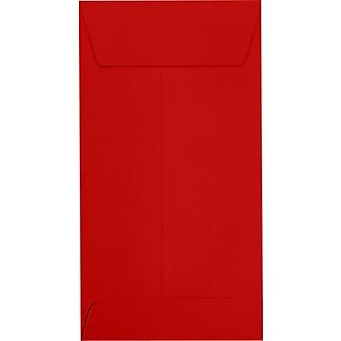 LUX #7 Coin Envelopes (3 1/2 x 6 1/2) 500/Pack, Ruby Red (LUX-7CO-18-500)