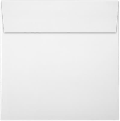 LUX 6 x 6 Square Envelopes 50/Pack, White - 100% Recycled (8525-WPC-50)