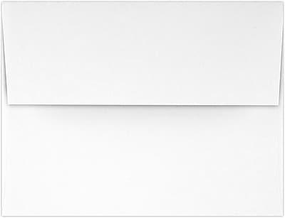 LUX A2 (4 3/8 x 5 3/4) - 100% Cotton - Brilliant White 50/Pack, Brilliant White - 100% Cotton (4870-SBW-50)