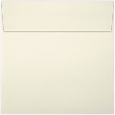 LUX 7 1/2 x 7 1/2 Square Envelopes 50/Pack, Natural (8555-03-50)