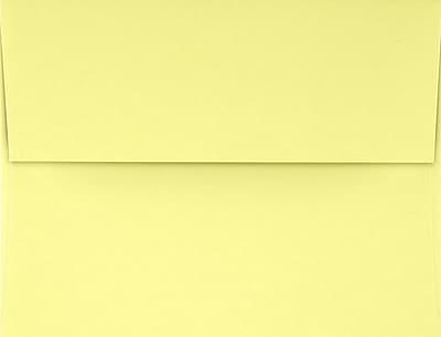 LUX A4 Invitation Envelopes (4 1/4 x 6 1/4) 50/Pack, Lemonade (LUX-4872-15-50)