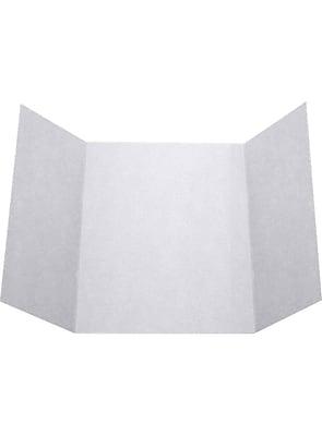 LUX A7 Gatefold Invitation (5 x 7) 100/Pack, Silver Metallic (A7GF-06-100)