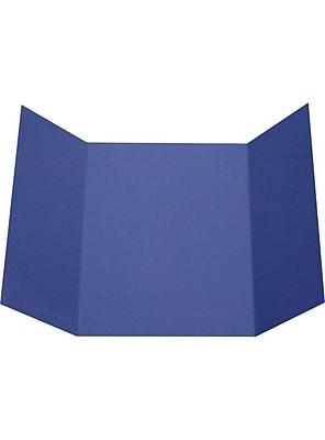 LUX A7 Gatefold Invitation (5 x 7) 100/Pack, Boardwalk Blue (LUXA7GF-23-100)