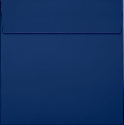 LUX 5 1/4 x 5 1/4 Square Envelopes 50/Pack, Navy (LUX-8510-103-50)