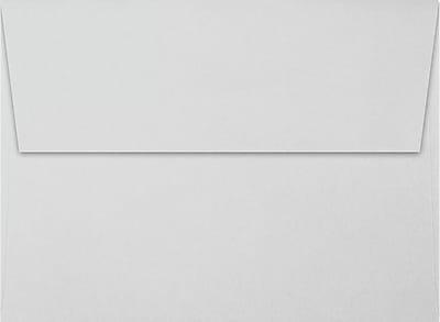 LUX A7 Invitation Envelopes (5 1/4 x 7 1/4) 50/Pack, Gray - 100% Cotton (4880-SG-50)