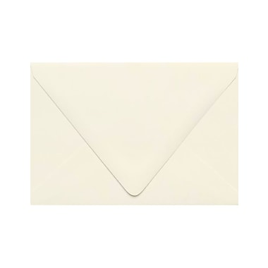 LUX A4 Contour Flap Envelopes (4 1/4 x 6 1/4) 50/Pack, Natural - 100% Recycled (1872-NPC-50)