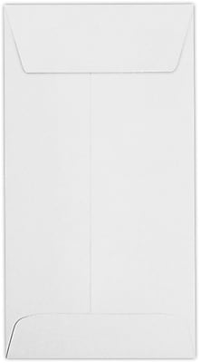 LUX #7 Coin Envelopes (3 1/2 x 6 1/2) 1000/Pack, 24lb. Bright White (95083-1000)
