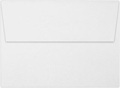 LUX A6 Invitation Envelopes (4 3/4 x 6 1/2) 50/Pack, 60lb. White w/Peel & Press™ (4875-WPP-50)