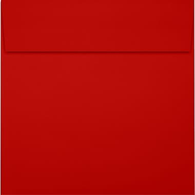 LUX 6 x 6 Square Envelopes 50/Pack, Holiday Red (8525-15-50)