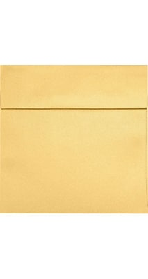 LUX 5 1/4 x 5 1/4 Square 50/Pack, Gold Metallic (8510-07-50)