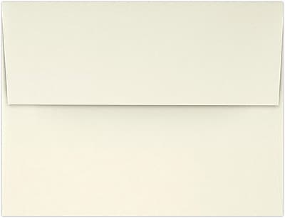 LUX A2 (4 3/8 x 5 3/4) - Natural 100% Recycled 50/Pack, Natural - 100% Recycled (4870-NPC-50)