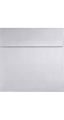 LUX 5 x 5 Square 50/Pack, Silver Metallic (8505-06-50)