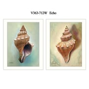 """TrendyDecor4U 18 in. x 14 in. """"Echo"""" Collection by Ed Wargo, Printed Framed Wall Art (V363-712W)"""